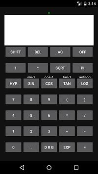 OB calculator poster