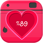 Love Calculator Photo on Touch icon