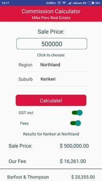 MPRE Commission Calculator apk screenshot