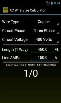 Wire size calculator apk download free productivity app for wire size calculator poster wire size calculator apk screenshot keyboard keysfo Choice Image