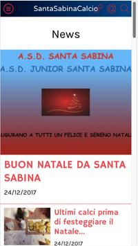 SantaSabinaCalcio screenshot 5