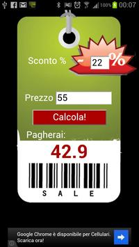 Easy discount calculator poster