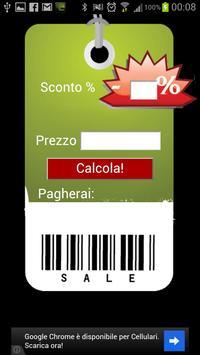 Easy discount calculator apk screenshot