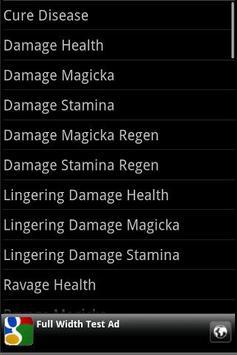 Skyrim Alchemy Ingredients screenshot 1