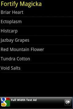 Skyrim Alchemy Ingredients screenshot 3