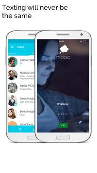 Mood Messenger - SMS & MMS الملصق