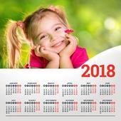 Calendar Photo Editor 2018 icon