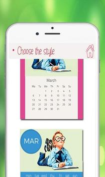 Calendar Photo Editor 2018 screenshot 2