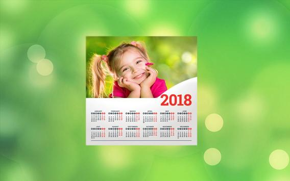 Calendar Photo Editor 2018 screenshot 3