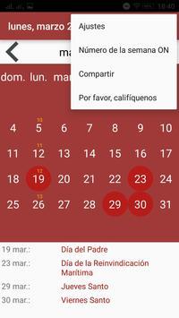 Calendario screenshot 14