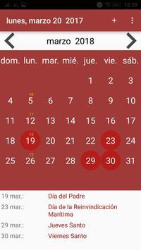 Calendario screenshot 11