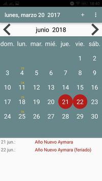 Calendario screenshot 5
