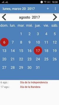 Calendario screenshot 8
