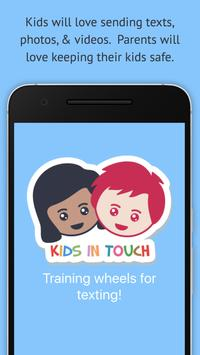 Kids In Touch Texting for Kids poster