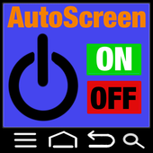 The Auto Screen Turn On & Off icon