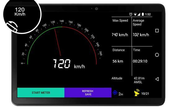 GPS Speedometer - Trip Meter - Altimeter apk screenshot