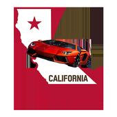 Free California (CA) DMV Drive License Test 2017 icon