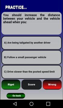 Free California (CA) DMV Drive License Test 2017 apk screenshot