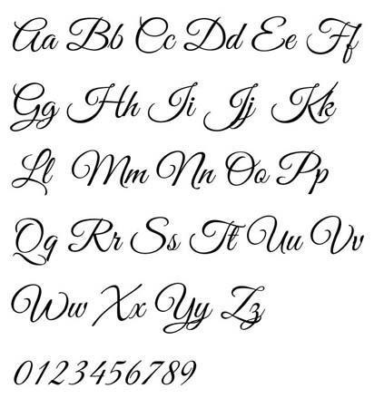 Letras De Caligrafia For Android Apk Download