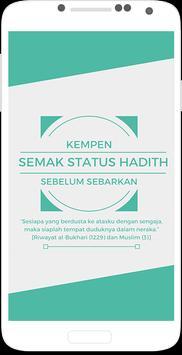 Semak Hadis poster