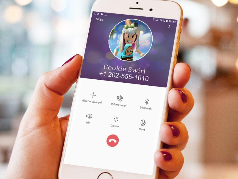 Fake Call From Cookieswirlc Real Life Voice For Android Apk Download