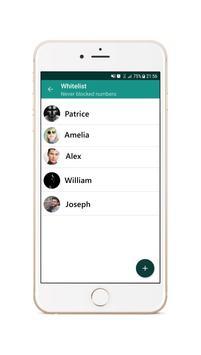 Call Blocker - SMS Blocker Second screenshot 1