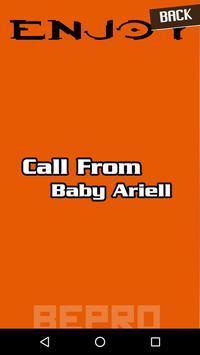call from baby ariell apk screenshot