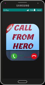 Call from héro apk screenshot