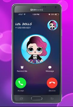Fake Call From Lol Surprise Dolls Eggs Big Sister screenshot 2