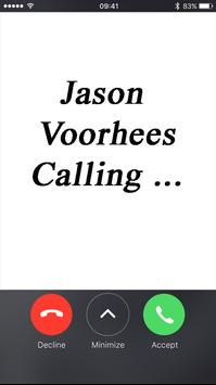 Fake Call From Jason voorhees poster