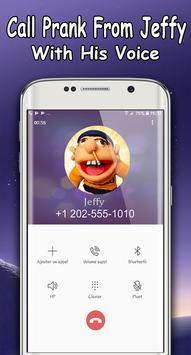 Jeffy The Puppet : Free Fake Call screenshot 1