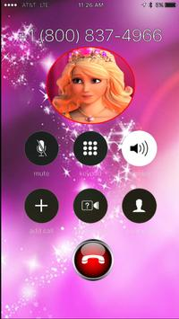 Fake Call From Barbie Princess Sweet screenshot 8