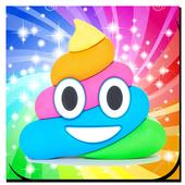 Poop Emoji Fake Call icon