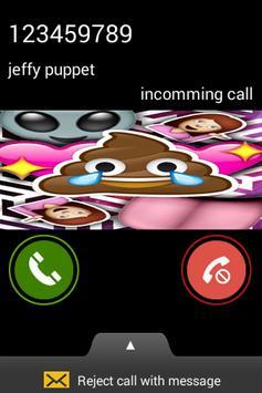 Poop Emoji Fake Call screenshot 2