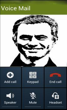 Fake Call Mourinho poster