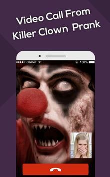 Video Call From Killer Clown poster