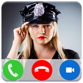 Police Calling App - Fake Call icon