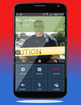 Police Calling App - Fake Call screenshot 3