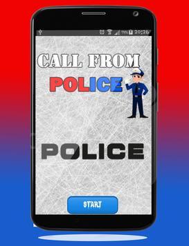 Police Calling App - Fake Call poster