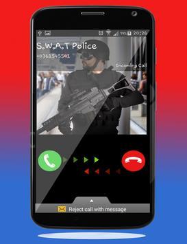 Police Calling App - Fake Call screenshot 2