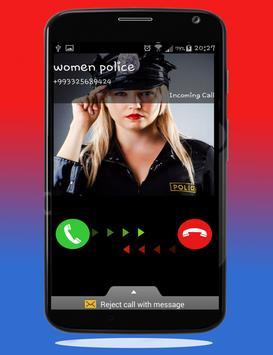 Police Calling App - Fake Call screenshot 4