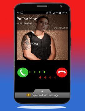 Police Calling App - Fake Call screenshot 5
