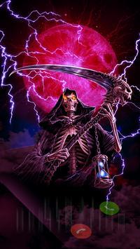 Grim Reaper - Skull Themes for Caller Screen apk screenshot