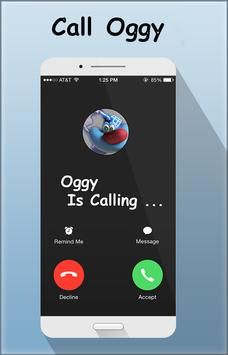 Fake Call From Oggy скриншот 1