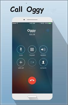 Fake Call From Oggy скриншот 2