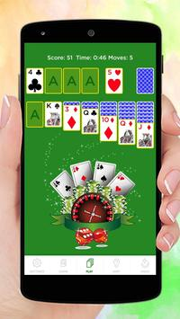 Solitaire Cube poster