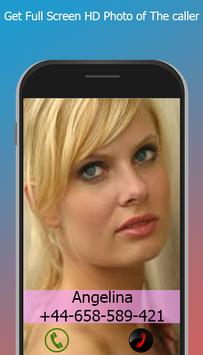 Screen Caller ID And Picture HD screenshot 1