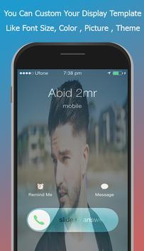 Screen Caller ID And Picture HD screenshot 2