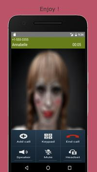 Call Prank From Annabelle screenshot 2