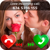 Love Caller Screen أيقونة